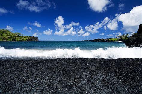 black sand beaches maui maui hawaii passionfortravel wai anapanapa black