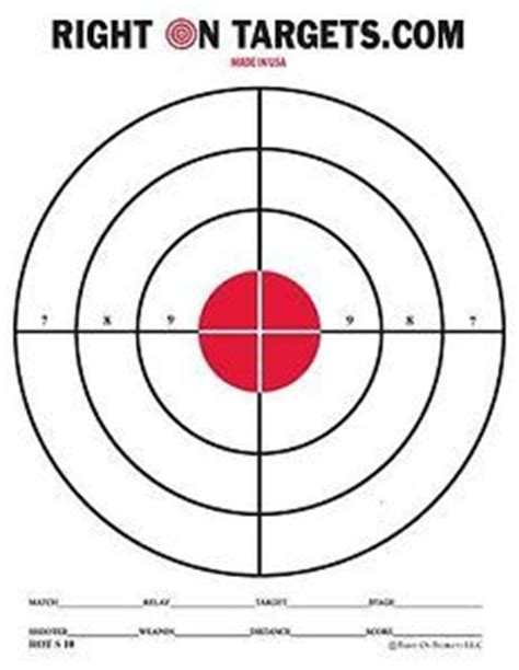 printable long range shooting targets printable gun targets 740 printable archery paintball
