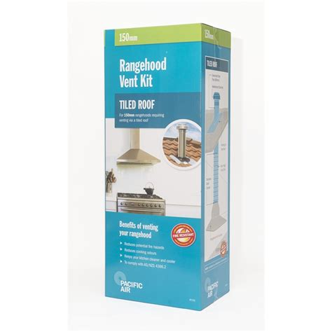 Pacific Kitchen Vent Pacific Air 150mm Tiled Roof Rangehood Venting Kit