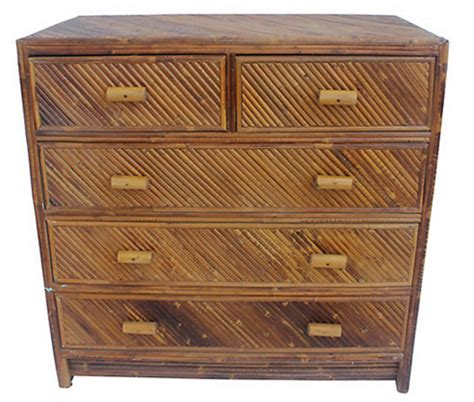 Rattan Dressers by 6 Wicker Rattan Dressers For Your Tropical Home
