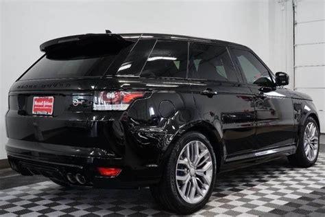 range rover svr black 2016 range rover sport svr in santorini black 665