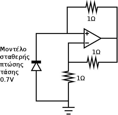 constant voltage drop model diode exle op diode circuit simulation producing strange results electrical engineering stack exchange