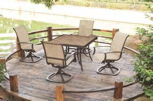 menards outdoor furniture verona 5pc patio set at menards 174