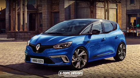 the renault scenic gt might look like this if sports mpvs