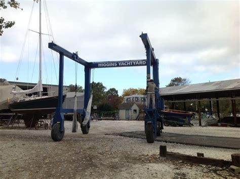 higgins boat yard hurricane preparation in talbot county stardem