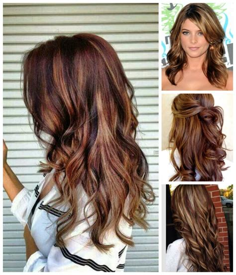 hairstyles with brown hair and blonde highlights rich brown hair color blonde highlights hair colour your
