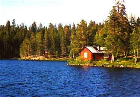 Urlaub Holzhütte by Ferienh 228 User Schweden Lappland Norwegen Angelurlaub