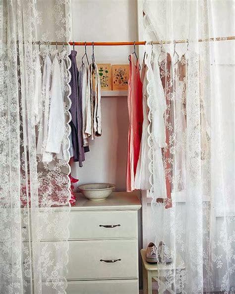armarios con cortinas retro y con encanto puertas