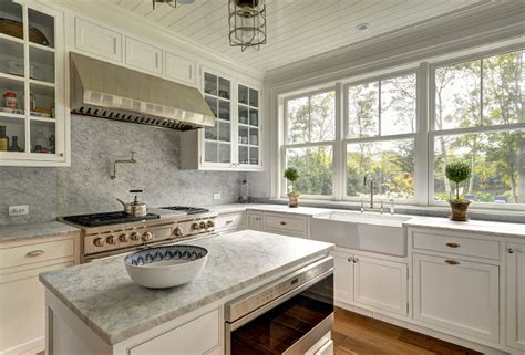kitchen marble slab design east hton shingle cottage with coastal interiors home