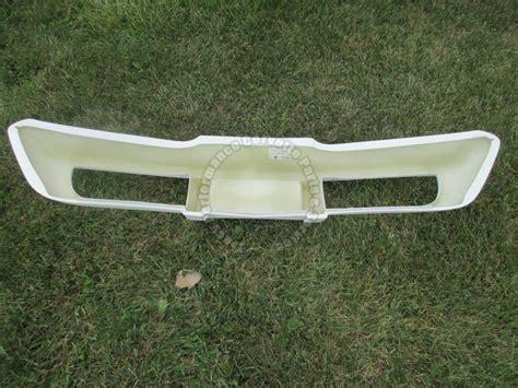 1978 corvette front bumper 1975 79 corvette new layup front bumper white gel