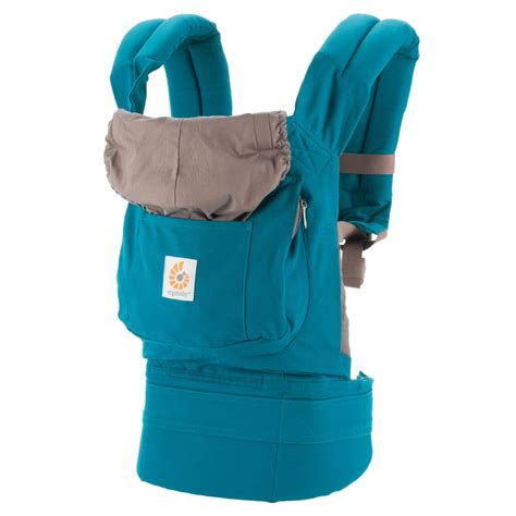 Ergobaby Carrier Original ergo baby teal baby origional carrier all season s kidstuff