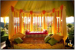 Simple Mehndi Stage Decoration by Mehndi Stage Designs Mehndi Stage