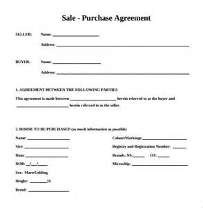 Vehicle Purchase Agreement Template Purchase Agreement 9 Download Free Documents In Pdf Word