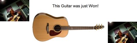 Guitar Sweepstakes 2014 - guitar giveaway justification jam robbie burns returns