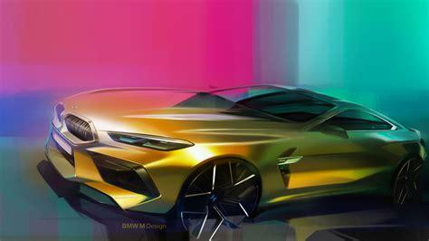 bmw  coupe design sketch render car body design