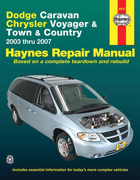 hayes car manuals 1996 chrysler town country on board diagnostic system dodge caravan chrysler voyager town country 2003 2007 instrukcja napraw haynes motohelp