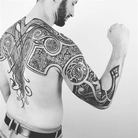 norwegian tribal tattoos 25 viking designs ideas design trends