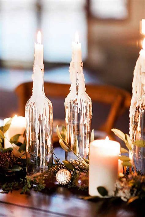 diy wedding centerpieces cheap best 25 fall candle centerpieces ideas on
