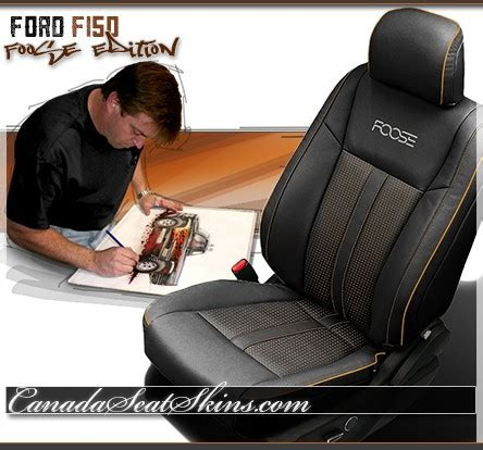 f150 leather seat covers canada 2015 2018 ford f150 foose edition leather upholstery