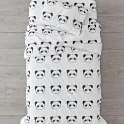 panda crib bedding toddler bedding sets the land of nod