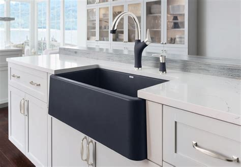 blanco sink for 30 inch cabinet blanco ikon 174 30 quot apron front blanco