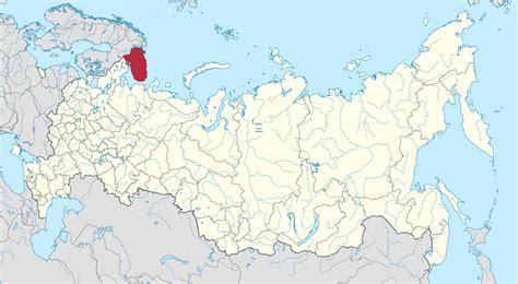maps murmansk russia file map of russia murmansk oblast svg wikimedia commons