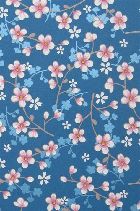 Blue Cherry pip studio blue cherry blossom wallpaper bell and blue