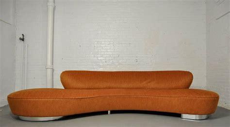 kagan sofa vladimir kagan serpentine sofa at 1stdibs