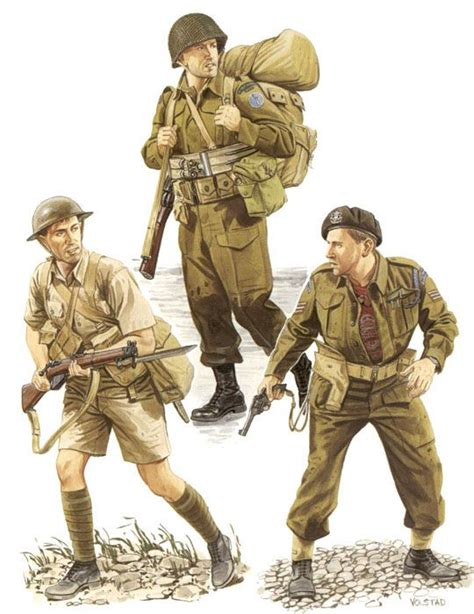 ww2 british soldier uniform military art soldiers in the time pinterest