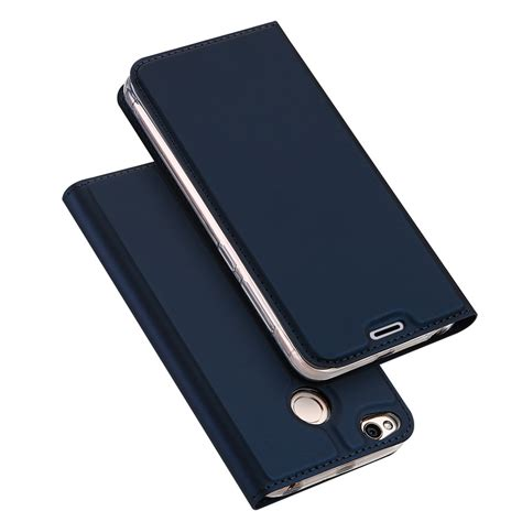 dux ducis for xiaomi redmi 4x magnetic pu leather flip stand wallet cover for xiaomi redmi
