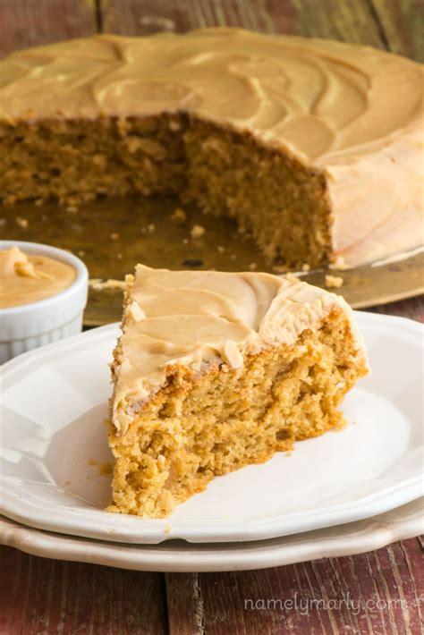 vegan peanut butter wacky cake namely marly
