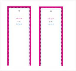 Free Bookmark Templates by Bookmark Templates 16 Free Pdf Psd Documents