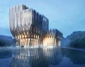 lovely Zaha Hadid Nyc Building #3: Zaha-Hadid-Sleuk-Rith-Institute-3.jpg