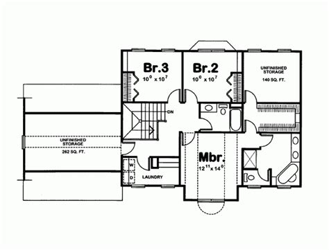 3 bedroom country house plans 3 bedroom colonial country house plan favething com