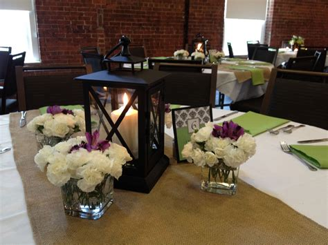 rehearsal dinner table decorations centerpieces made of