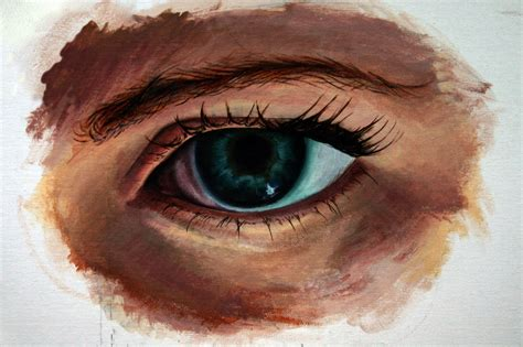 acrylic painting eye eye acrylic by nathaniel rowland on deviantart