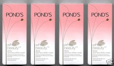 Ponds Detox Price by 4 Pond S White Detox Spotless White 160g