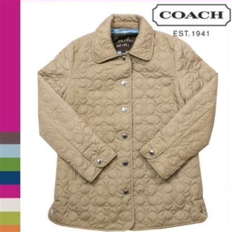 Coach Quilted Jacket Womens by 54 Coach Jackets Blazers Coach Quilted Jacket