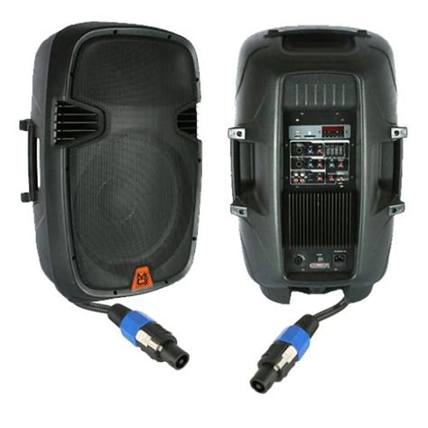 Total Dork Speaker System by Mr Dj Pbx 2610pkg 2 Way Range Speaker System Package
