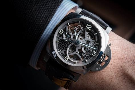 Luminor Panerai Turbilon Angka Black 1 the panerai lo scienziato luminor 1950 tourbillon gmt titanio