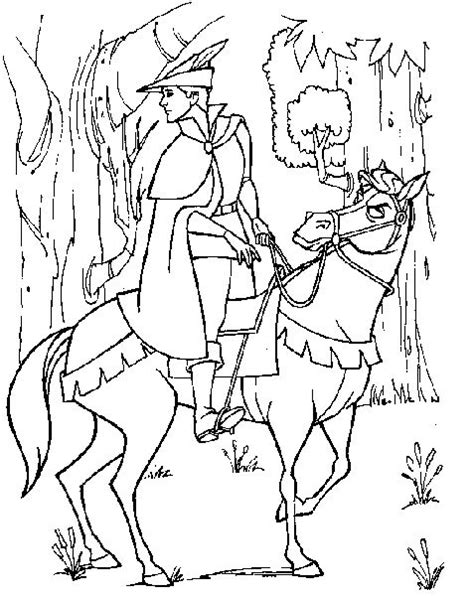 coloring pages of disney horses 49 best sleeping beauty coloring pages images on pinterest