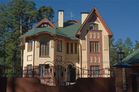 rich houses photo 599 02 summer house of a rich businessman on parkovaya north west from st