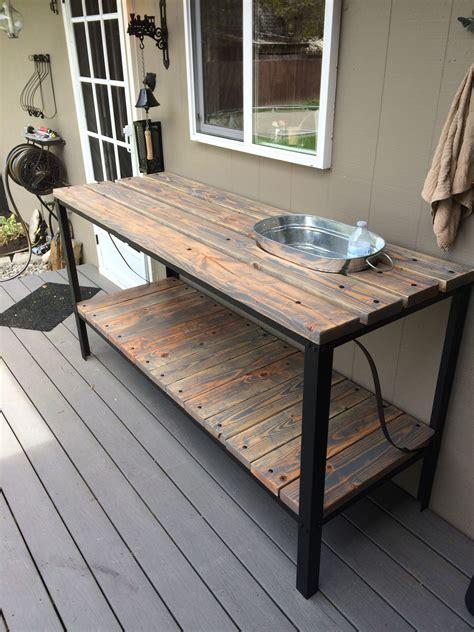 metal outdoor sofa table patio sofa table outdoor metal table unique console patio