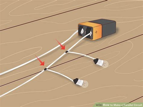 parallel circuit board how to make a parallel circuit with pictures wikihow
