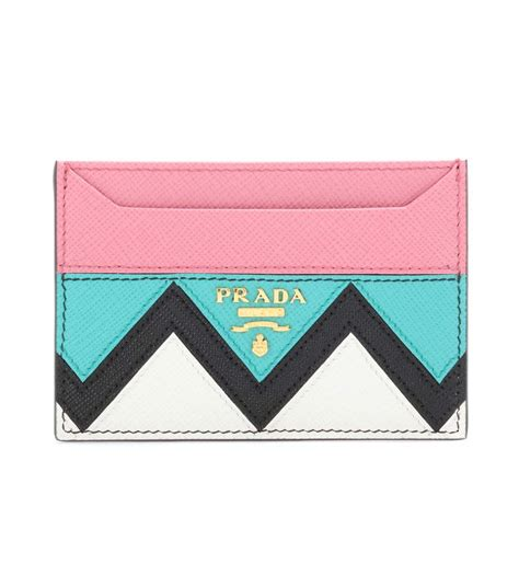 Card Holder leather card holder prada mytheresa
