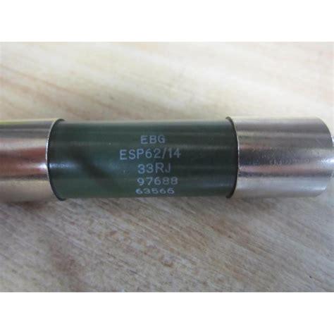 ebg resistors esp62 14 snubber resistor esp6214 used mara industrial
