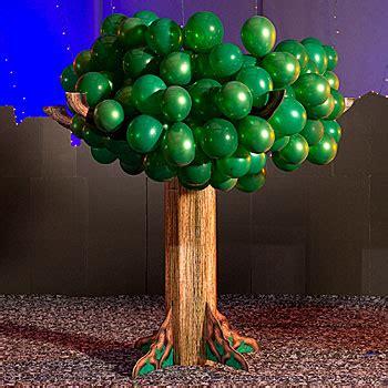 how to make a balloon tree dinosaur birthday