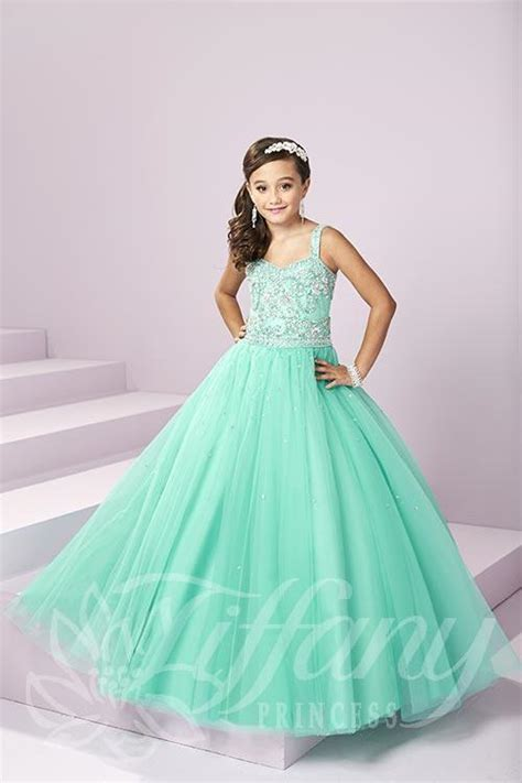 tiffany princess  pageant dress madamebridalcom