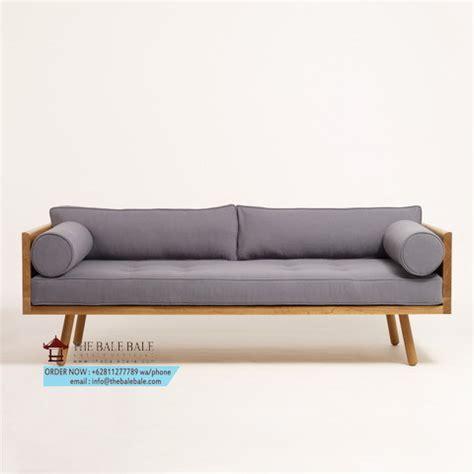 Sofa Kayu Solid sofa jati minimalis sjt 033 mebel jati minimalis mebel