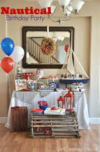 Nautical Birthday Party Theme - party nautical lobster party creative juice